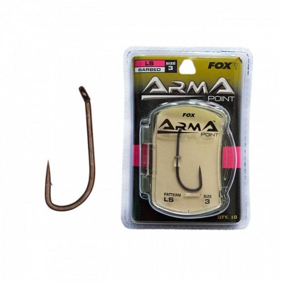 FOX Arma Point LS - kaprárske háčiky veľ.4