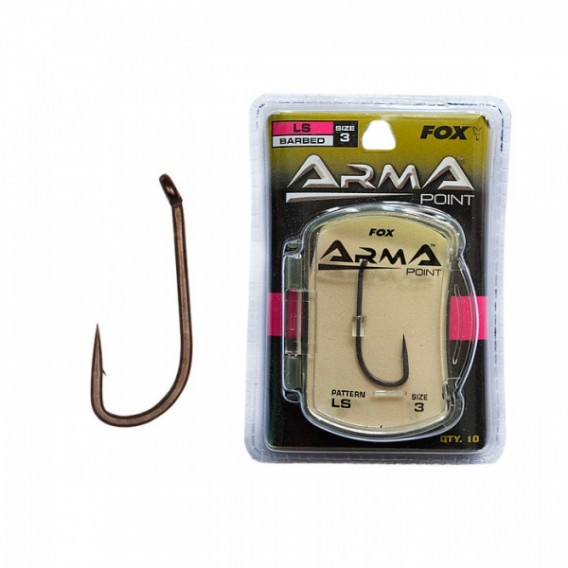 FOX Arma Point LS - kaprárske háčiky veľ.6