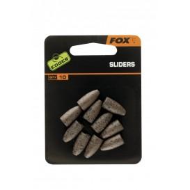 FOX Edges Sliders 10ks - zadné olová