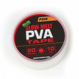 FOX EDGES Slow Melt PVA 10mm x 20m - PVA páska