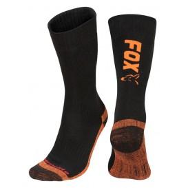 FOX Black/Orange Thermolite Socks - ponožky