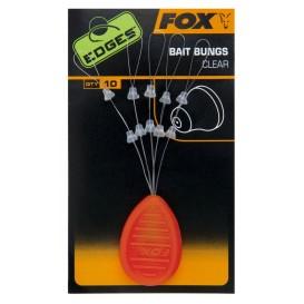 FOX EDGES Bait Bungs Clear - zarážky