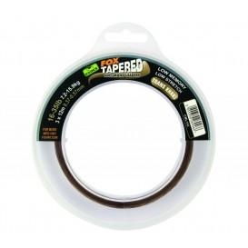 FOX EDGES Soft Tapered Leaders Trans Khaki - kónické vlasce 0.33mm - 0.50mm