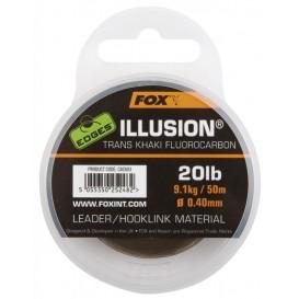 FOX EDGES Illusion Flurocarbon Leader 20lb - fluorokarbón