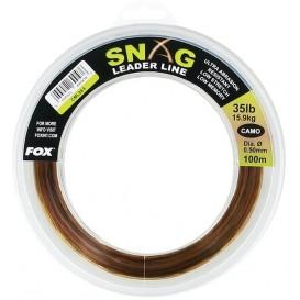 FOX Snag Leader Camo 0.60mm - šokový vlasec