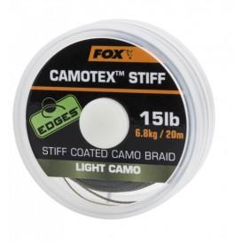 FOX Camotex Light Stiff 15lb - nadväzcová šnúrka