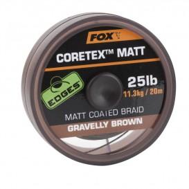 FOX Matt Coretex Gravelly Brown 20lb - nadväzcová šnúrka