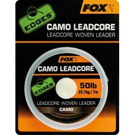 FOX EDGES Camo Leadcore 50lb 7m - olovená šnúra