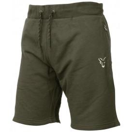 FOX Collection Green/Silver Lightweight Jogger Shorts - šortky