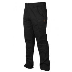 FOX Collection Black/Orange Combat Trousers - nohavice