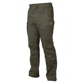 FOX Collection Green/Silver Combat Trousers - nohavice