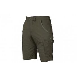 FOX Collection Green/Silver Combat Shorts - kraťasy