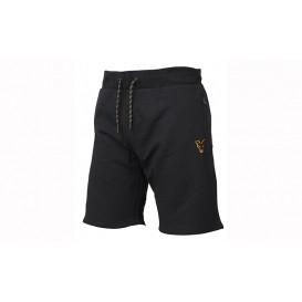 FOX Collection Black/Orange Lightweight Jogger Shorts - šortky