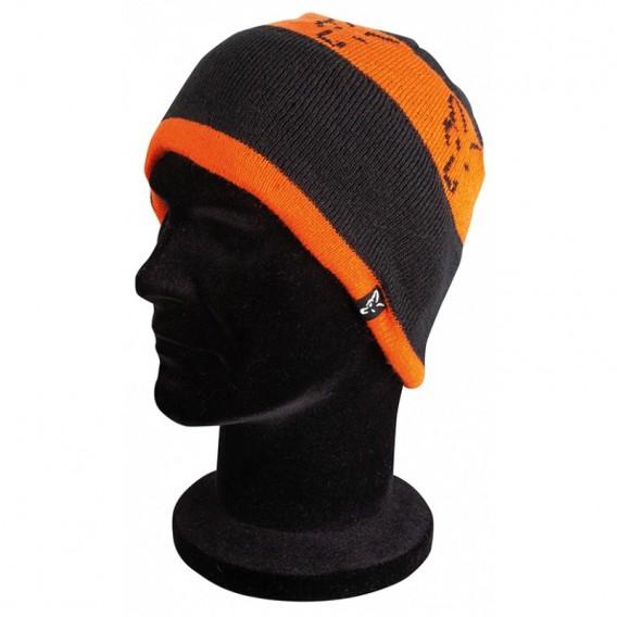 FOX Black/Orange Beanie - čiapka