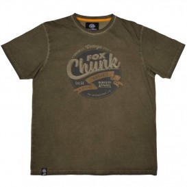 FOX Chunk Stonewash Khaki T-Shirt - tričko