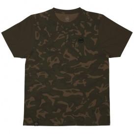 FOX Chunk Dark Khaki/Camo Edition T-shirt - tričko