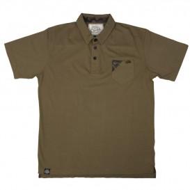 FOX Chunk Stonewash Polo Shirt - polokošeľa