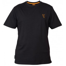 FOX Collection Black/Orange T-Shirt - tričko