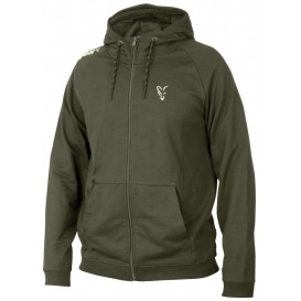 FOX Collection Green/Silver Lightweight Hoodie - mikina