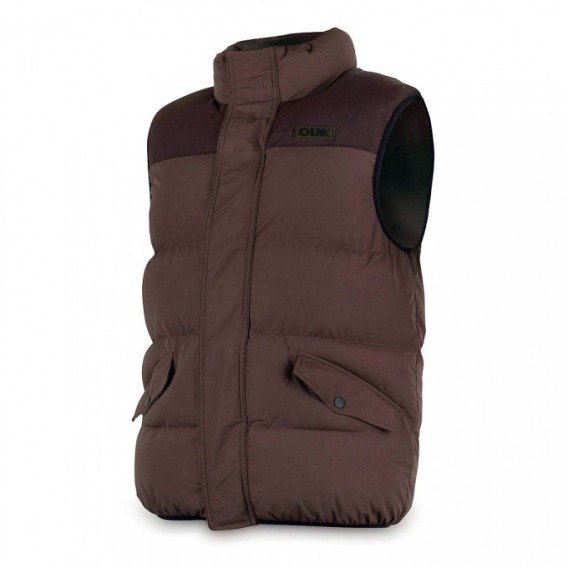 FOX Chunk Bodywarmer Khaki - zateplená vesta