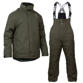 FOX Collection Green/Silver Winter Suit - zimný termokomplet